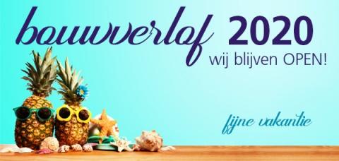 Bouwverlof 2020