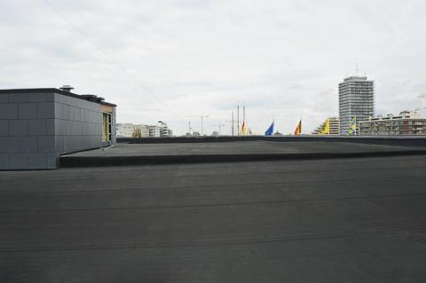 EPDM Resitrix plat dak stadhuis Oostende