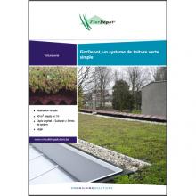 Brochure toiture verte FlorDepot