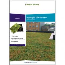 Brochure groendaken Instant Sedum