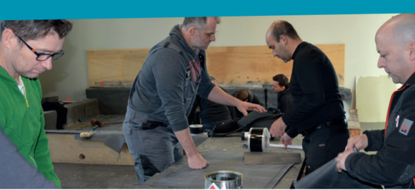Jan Vermeire en Bernard Sol, ervaren EPDM-instructeurs bij VM Building Solutions, leggen in zes vragen en met de nodige passie uit waarom een goede opleiding zo hard nodig is.
