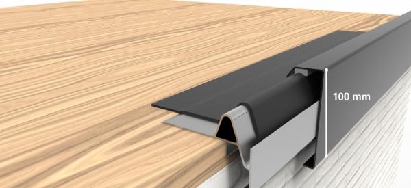 Rive de toit en aluminium Clips & Go 2D